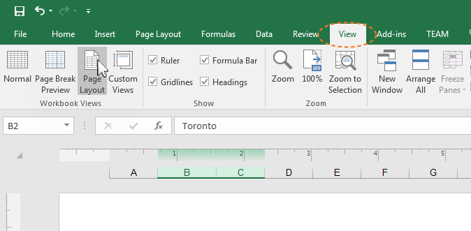 how to change document to landscape in openoffice excel